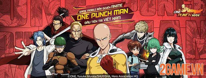 One Punch Man The Strongest chính thức công bố lộ trình ra mắt 0