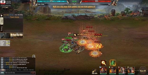 3Q Quần Hùng Tam Quốc Công Thành tặng game thủ bộ code siêu khủng 4