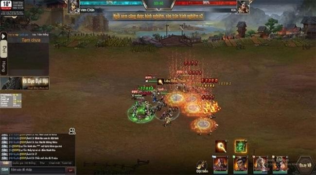 3Q Quần Hùng Tam Quốc Công Thành tặng game thủ bộ code siêu khủng