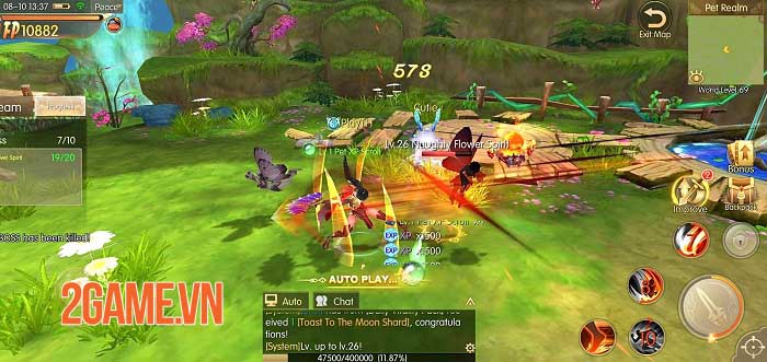 Story of Hero: Lost Artifact - MMORPG có hệ thống thế giới mở tuyệt vời 1