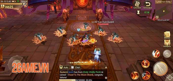 Story of Hero: Lost Artifact - MMORPG có hệ thống thế giới mở tuyệt vời 3