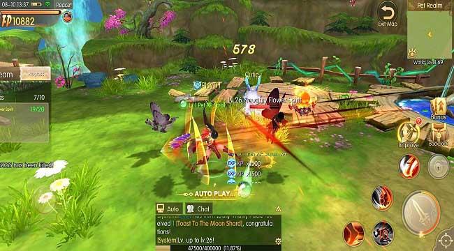 Story of Hero: Lost Artifact – MMORPG có hệ thống thế giới mở tuyệt vời