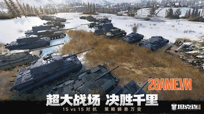 Tank Company - Game chiến đấu xe tăng 15v15 của NetEase 1