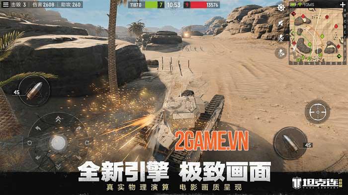 Tank Company - Game chiến đấu xe tăng 15v15 của NetEase 4
