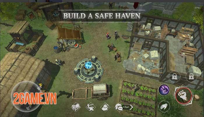 Craft of Survival - Game hành động bối cảnh thế giới giả tưởng đen tối 2