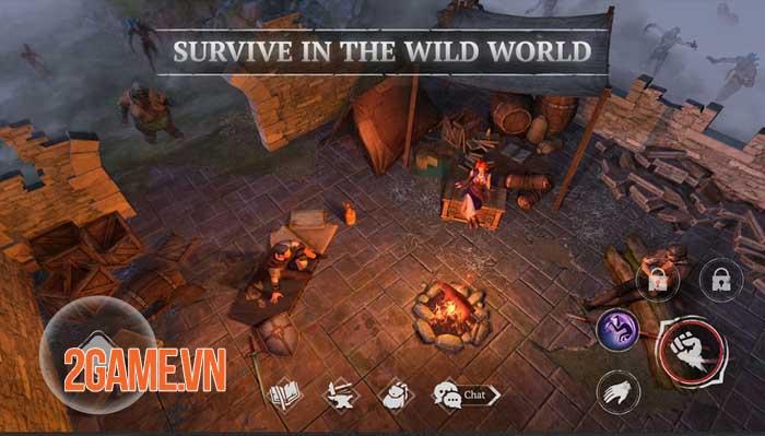 Craft of Survival - Game hành động bối cảnh thế giới giả tưởng đen tối 3