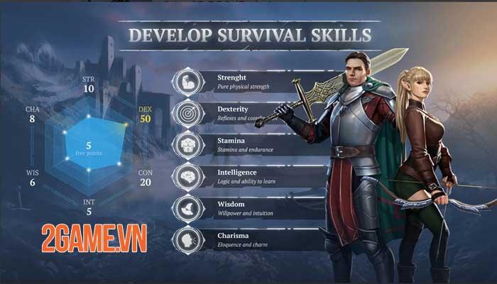 Craft of Survival - Game hành động bối cảnh thế giới giả tưởng đen tối 4