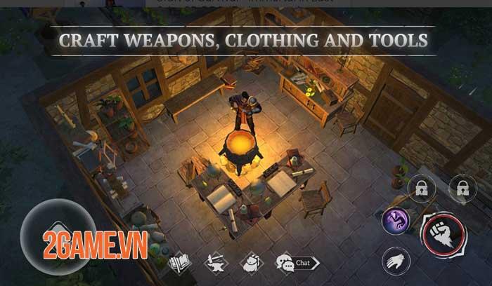 Craft of Survival - Game hành động bối cảnh thế giới giả tưởng đen tối 5