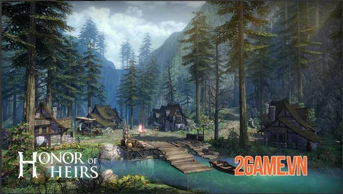 Honor of Heirs - Game nhập vai chiến đấu độc đáo và thẩm mỹ tinh tế 3