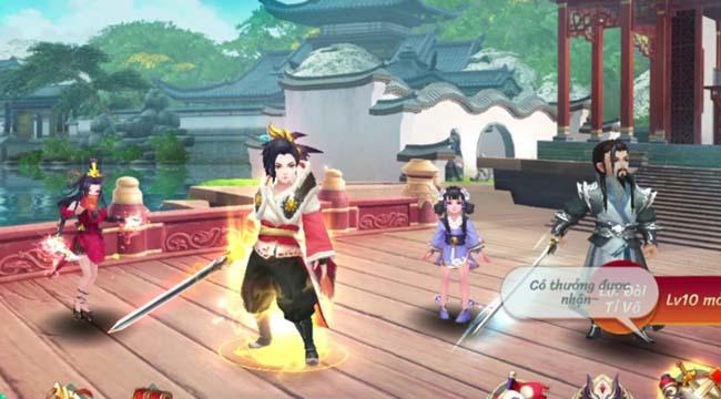 Trải nghiệm Kiếm Hiệp GO SohaGame- Game nhập vai thẻ tướng mới đậm chất võ thuật Kim Dung 0