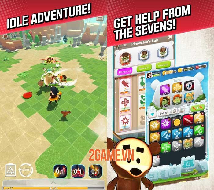 Red Shoes: Wood Bear World - Game màn hình dọc phong cách hoạt hình giải trí 1