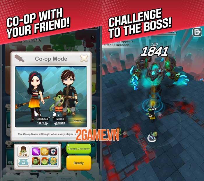 Red Shoes: Wood Bear World - Game màn hình dọc phong cách hoạt hình giải trí 2