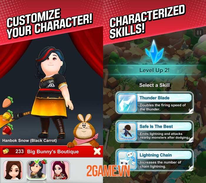 Red Shoes: Wood Bear World - Game màn hình dọc phong cách hoạt hình giải trí 3
