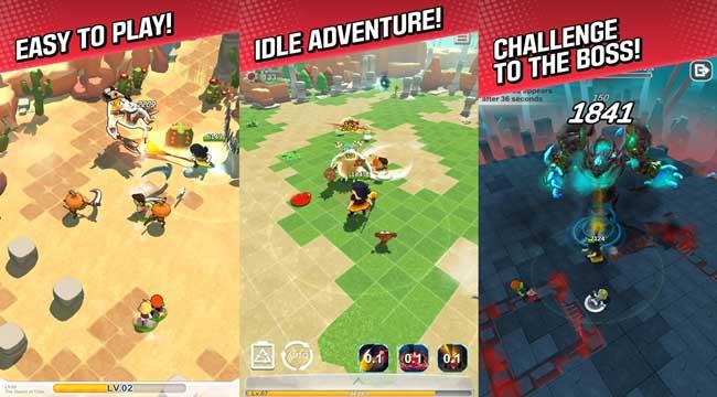 Red Shoes: Wood Bear World – Game màn hình dọc phong cách hoạt hình giải trí