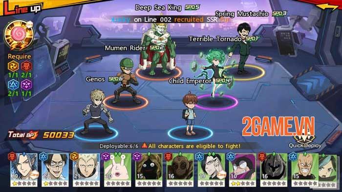 Dàn nhân vật One Punch Man: The Strongest được thiết kế chuẩn nguyên tác 0