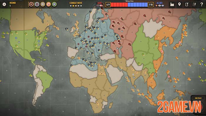 Axis & Allies 1942 Online - Game chiến thuật crossplay giữa PC và Mobile 0