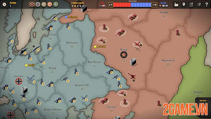 Axis & Allies 1942 Online - Game chiến thuật crossplay giữa PC và Mobile 1