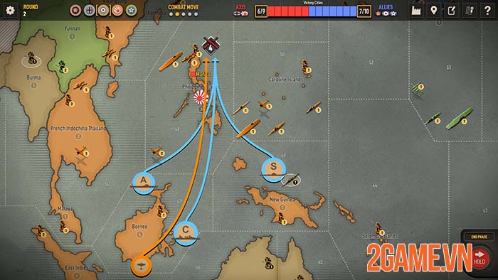 Axis & Allies 1942 Online - Game chiến thuật crossplay giữa PC và Mobile 2