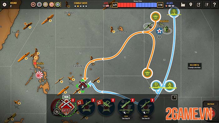 Axis & Allies 1942 Online - Game chiến thuật crossplay giữa PC và Mobile 3