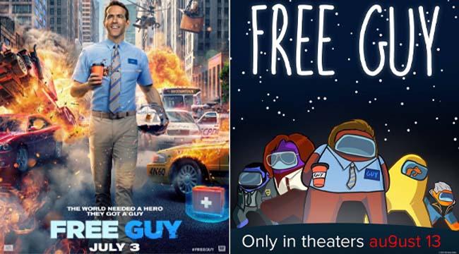 Free Guy ra mắt cộng đồng game thủ tranh thủ chế ảnh phù hợp hơn