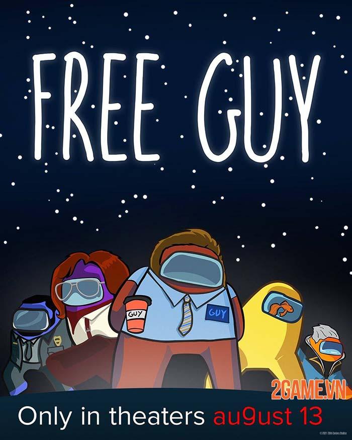 Free Guy ra mắt cộng đồng game thủ tranh thủ chế ảnh phù hợp hơn 3