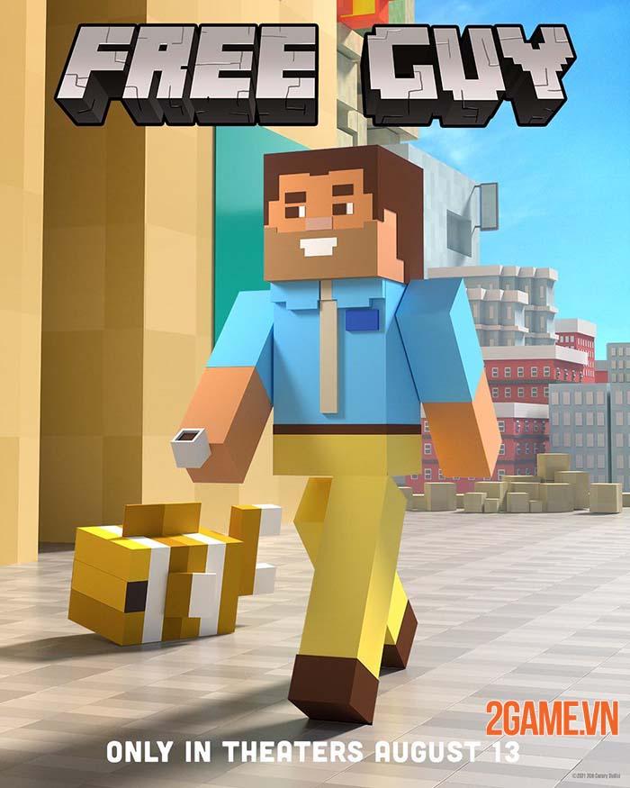 Free Guy ra mắt cộng đồng game thủ tranh thủ chế ảnh phù hợp hơn 2