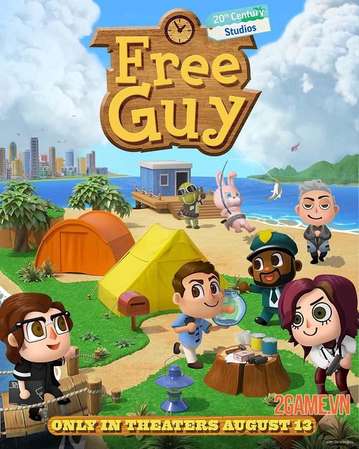 Free Guy ra mắt cộng đồng game thủ tranh thủ chế ảnh phù hợp hơn 5
