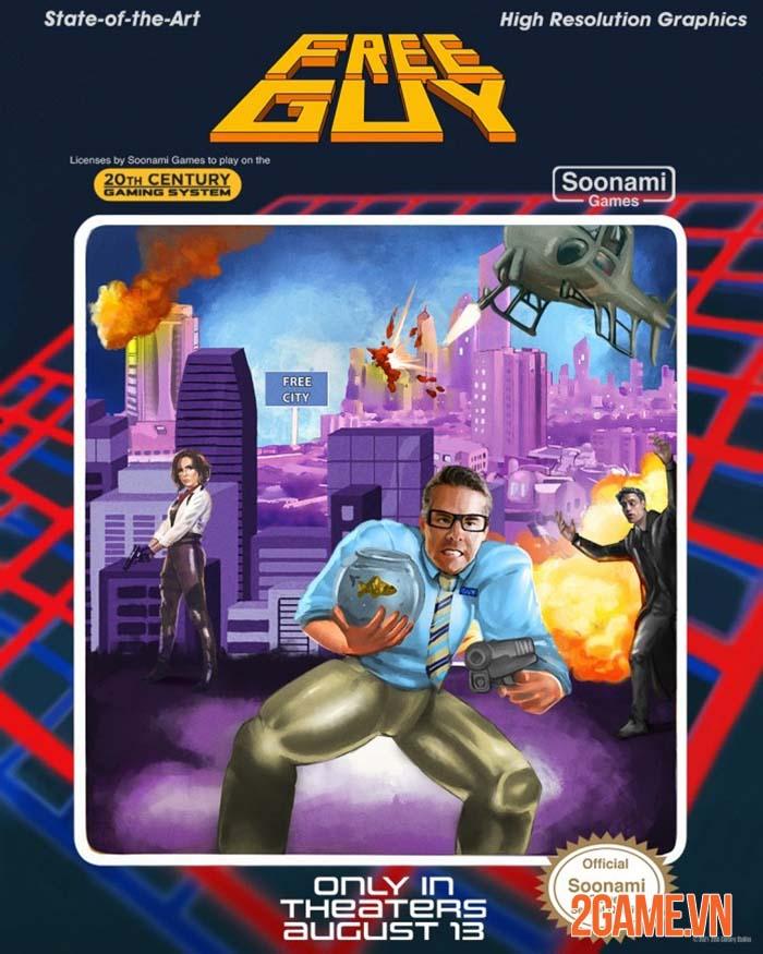 Free Guy ra mắt cộng đồng game thủ tranh thủ chế ảnh phù hợp hơn 6