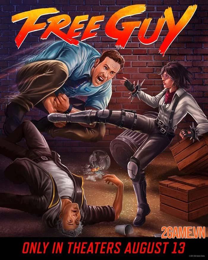 Free Guy ra mắt cộng đồng game thủ tranh thủ chế ảnh phù hợp hơn 4