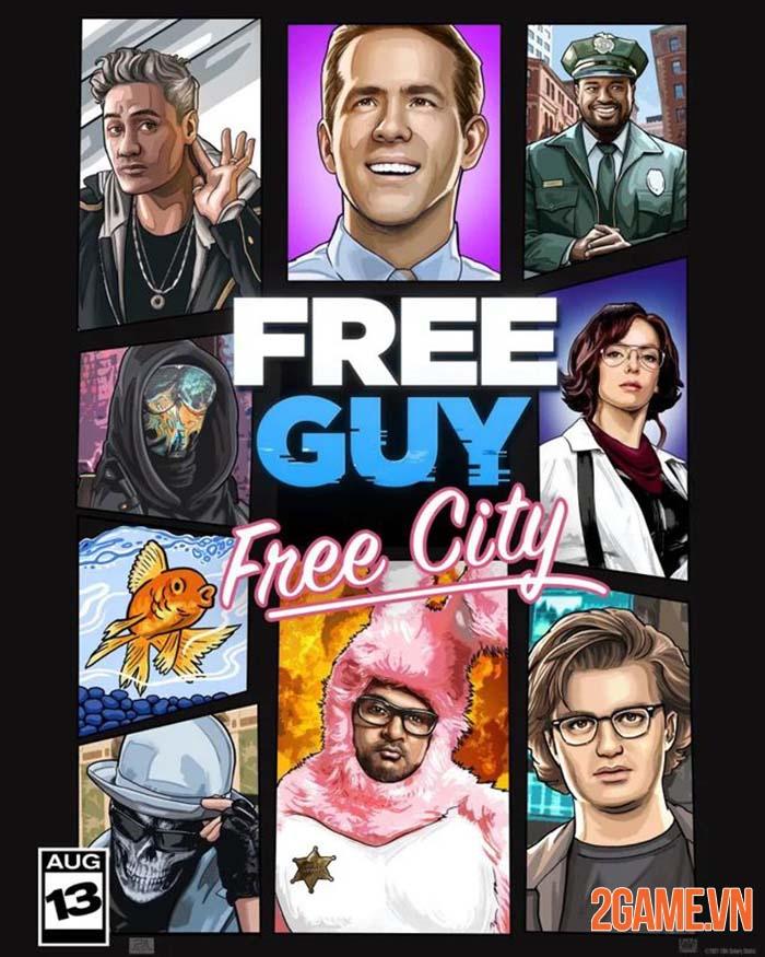 Free Guy ra mắt cộng đồng game thủ tranh thủ chế ảnh phù hợp hơn 1