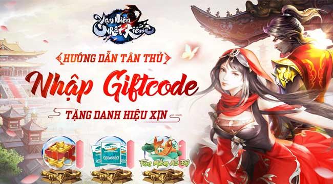 Tặng 999 giftcode Vạn Niên Nhất Kiếm VGP mừng ra mắt