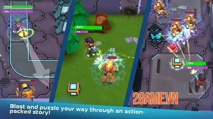 Turbo Shot - Game mobile phiêu lưu bắn súng kết hợp giải đố đầy màu sắc 0