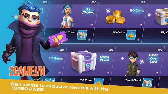 Turbo Shot - Game mobile phiêu lưu bắn súng kết hợp giải đố đầy màu sắc 4