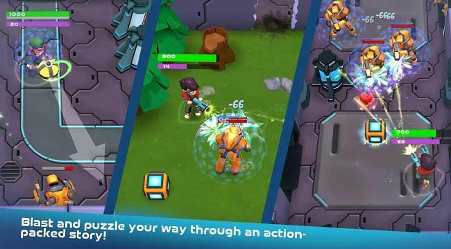 Turbo Shot – Game mobile phiêu lưu bắn súng kết hợp giải đố đầy màu sắc