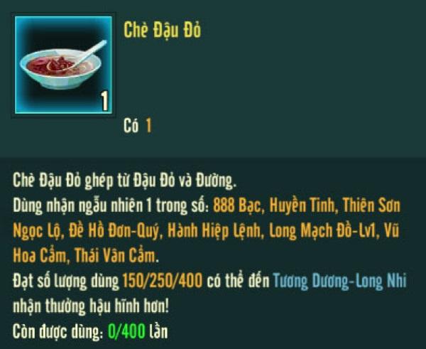 Võ Lâm Truyền Kỳ 1 Mobile: Nấu chè đậu đỏ, tìm vải may áo mừng Thất Tịch 1