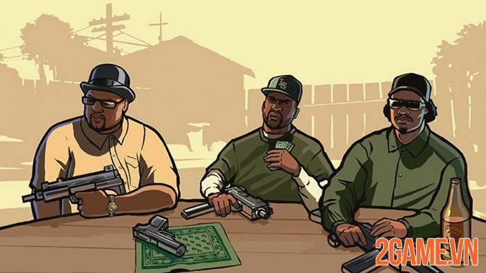 GTA 3, Vice City và San Andreas sẽ được remastered trên PC và Mobile 2
