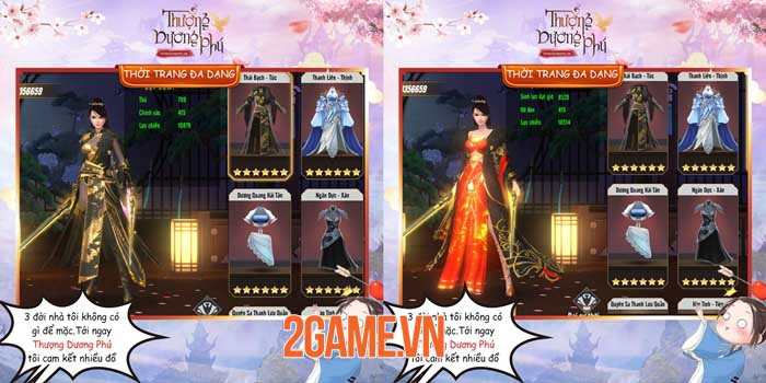 Thượng Dương Phú Mobile - Game MMORPG lấy cảm hứng từ phim cung đấu 5