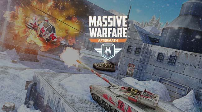 Massive Warfare – Chiến trường cơ giới hoành tráng trên mobile