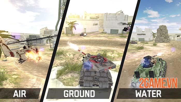 Massive Warfare - Chiến trường cơ giới hoành tráng trên mobile 1