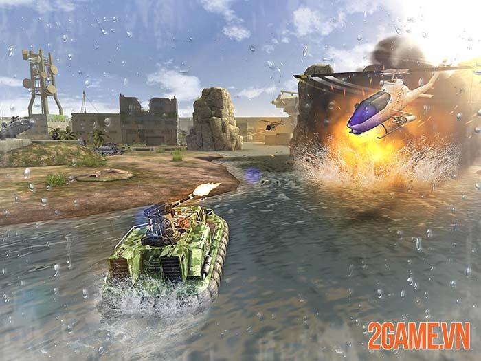 Massive Warfare - Chiến trường cơ giới hoành tráng trên mobile 0