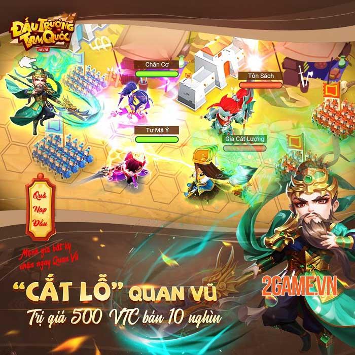 Đấu Trường Tam Quốc - Game chiến thuật cờ nhân phẩm 3Q đầu tiên sắp ra mắt 7