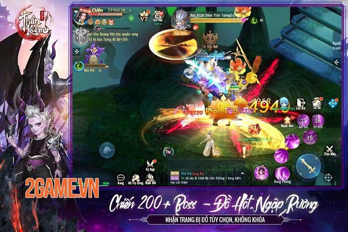 Thần Kiếm Mobile - Game nhập vai độc bản kĩ năng, chuyển phái không giới hạn 5