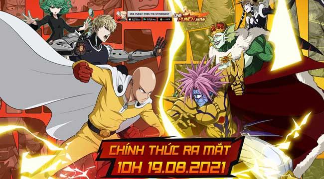10h00 ngày 19/8 – One Punch Man: The Strongest chính thức ra mắt game thủ Việt