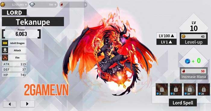 Dragon Village X - RPG Idle Shooting sắp xếp đội quân rồng để chiến đấu 0