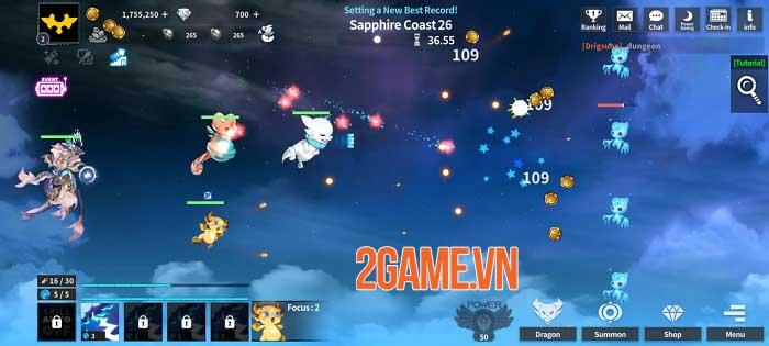 Dragon Village X - RPG Idle Shooting sắp xếp đội quân rồng để chiến đấu 2
