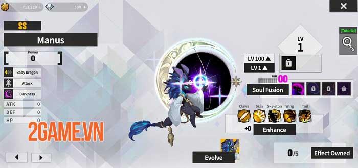 Dragon Village X - RPG Idle Shooting sắp xếp đội quân rồng để chiến đấu 3
