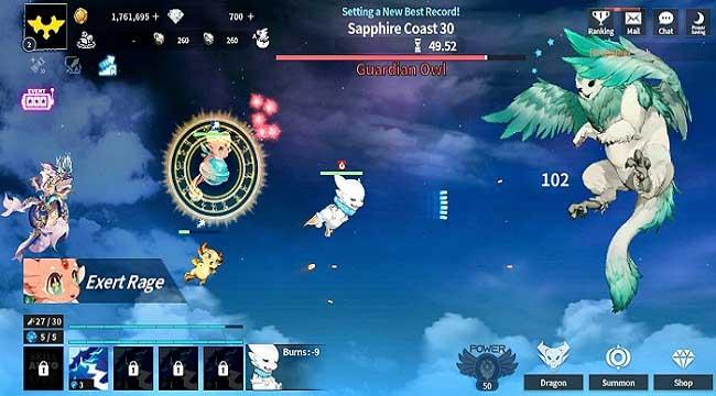 Dragon Village X – RPG Idle Shooting sắp xếp đội quân rồng để chiến đấu