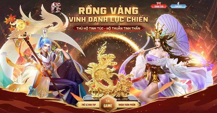 Ngự Thần Sư tung event đua TOP siêu HOT tặng Tượng Rồng Vờn Mây mạ vàng 0