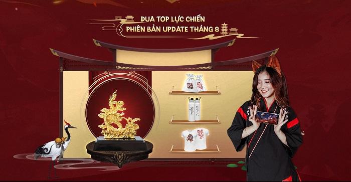 Ngự Thần Sư tung event đua TOP siêu HOT tặng Tượng Rồng Vờn Mây mạ vàng 1
