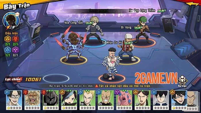 Trải nghiệm One Punch Man: The Strongest  - Đắm mình trong thế giới anime chuẩn nguyên tác 6